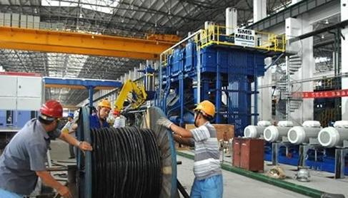 世界最大轻金属挤压机