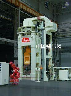 服役于美国汽车供应商工厂内的LASCO SPR1250型全自动螺旋压力机