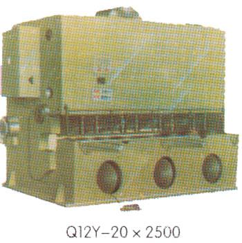 Q12Y系列液压剪板机1