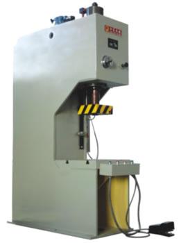 yj41系列单柱校正压装液压机图片
