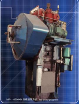 Hot die forging press