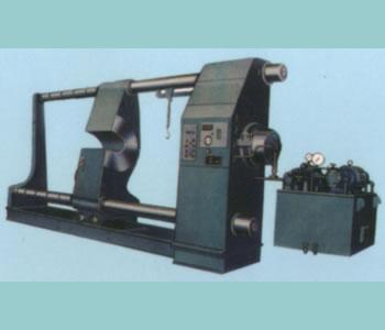 Horizontal press for axle