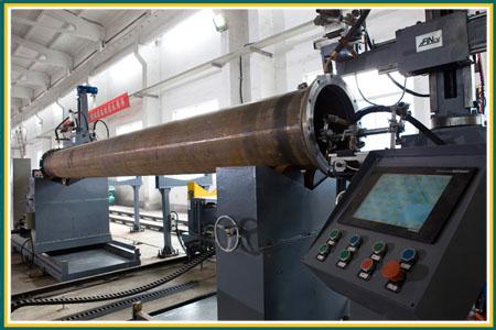 直管法兰环焊机