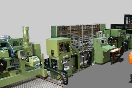 德国科来(科勒)锯带生产线_拉弯矫直机