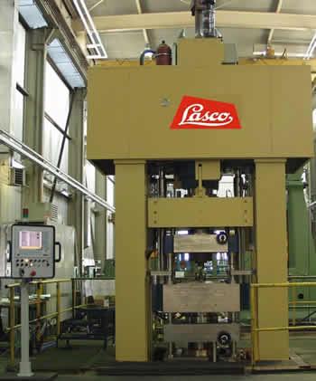 转让二手LASCO粉末冶金压实液压机