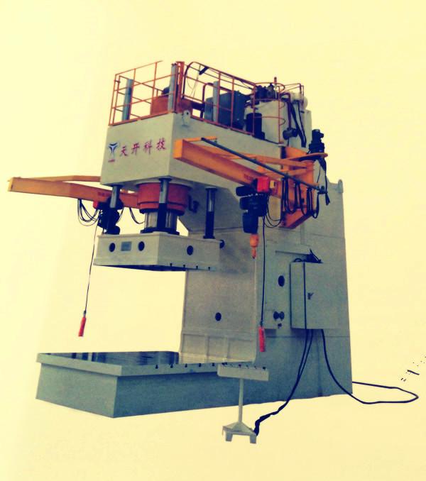 整机采用钢板焊接,并经回火时效处理,刚性好,结构简单,操作方便.