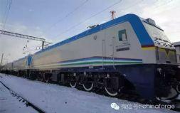 """中国制造""""高寒机车""""出口欧洲 高端装备再获认可"""