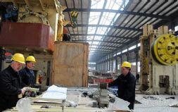 龙城精锻高压共轨项目生产厂房主体完工