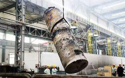 宝钛股份成功锻造出国内最长钛台阶轴