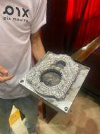 金属3D实现首个自动驾驶底盘打印