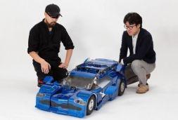 变形金刚成现实 日本公布汽车机器人