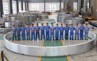 中环海陆锻出10米级铝合金大锻环