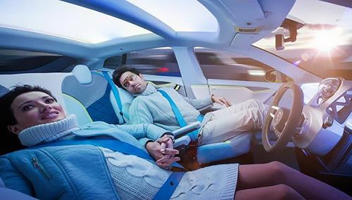 当汽车遇到机器智能 车联网和机器智能重塑未来驾驶高清图片