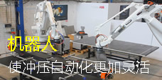 【焦点】机器人使冲压自动化更加灵活